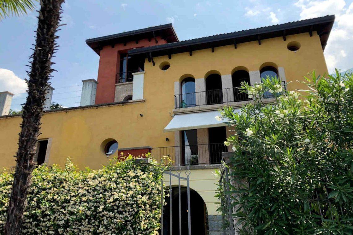 Villa Art Nouveau for sale Malcesine Lake Garda 02