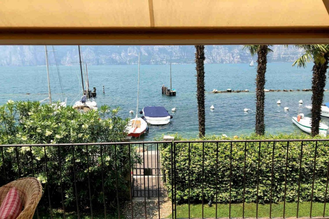 Villa Art Nouveau for sale Malcesine Lake Garda 04
