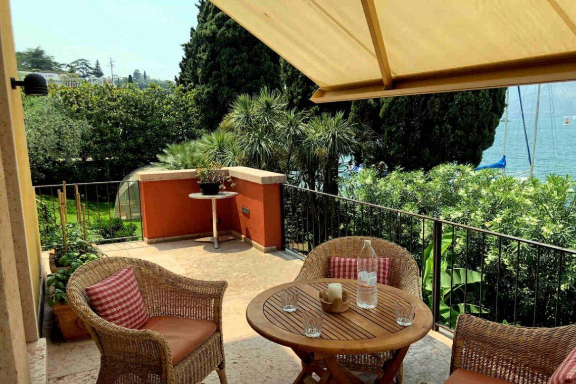 Villa Art Nouveau for sale Malcesine Lake Garda 06