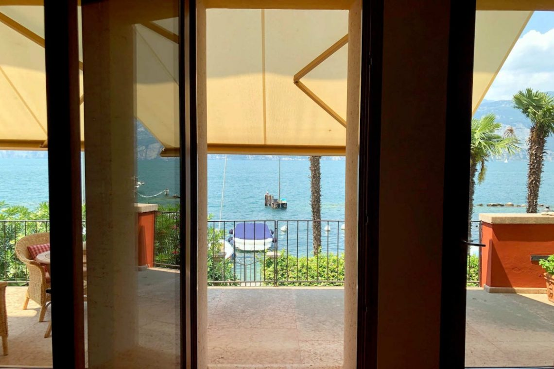 Villa Art Nouveau for sale Malcesine Lake Garda 19