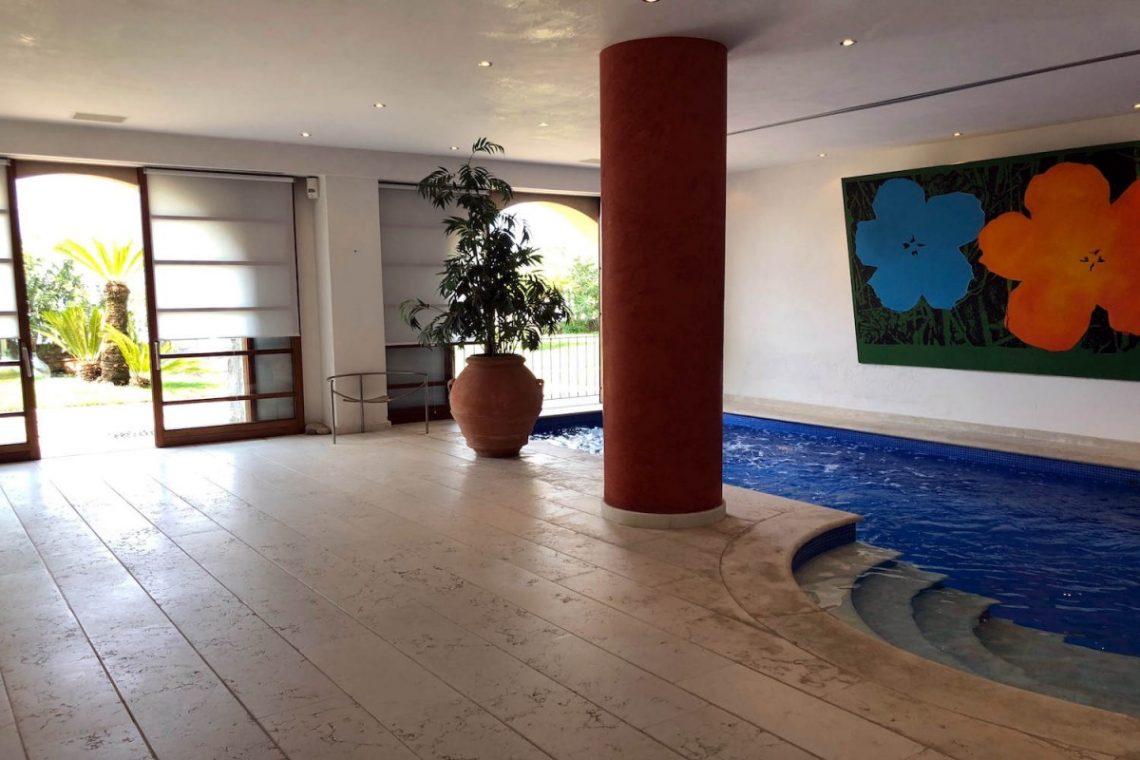 Villa Art Nouveau for sale Malcesine Lake Garda 26