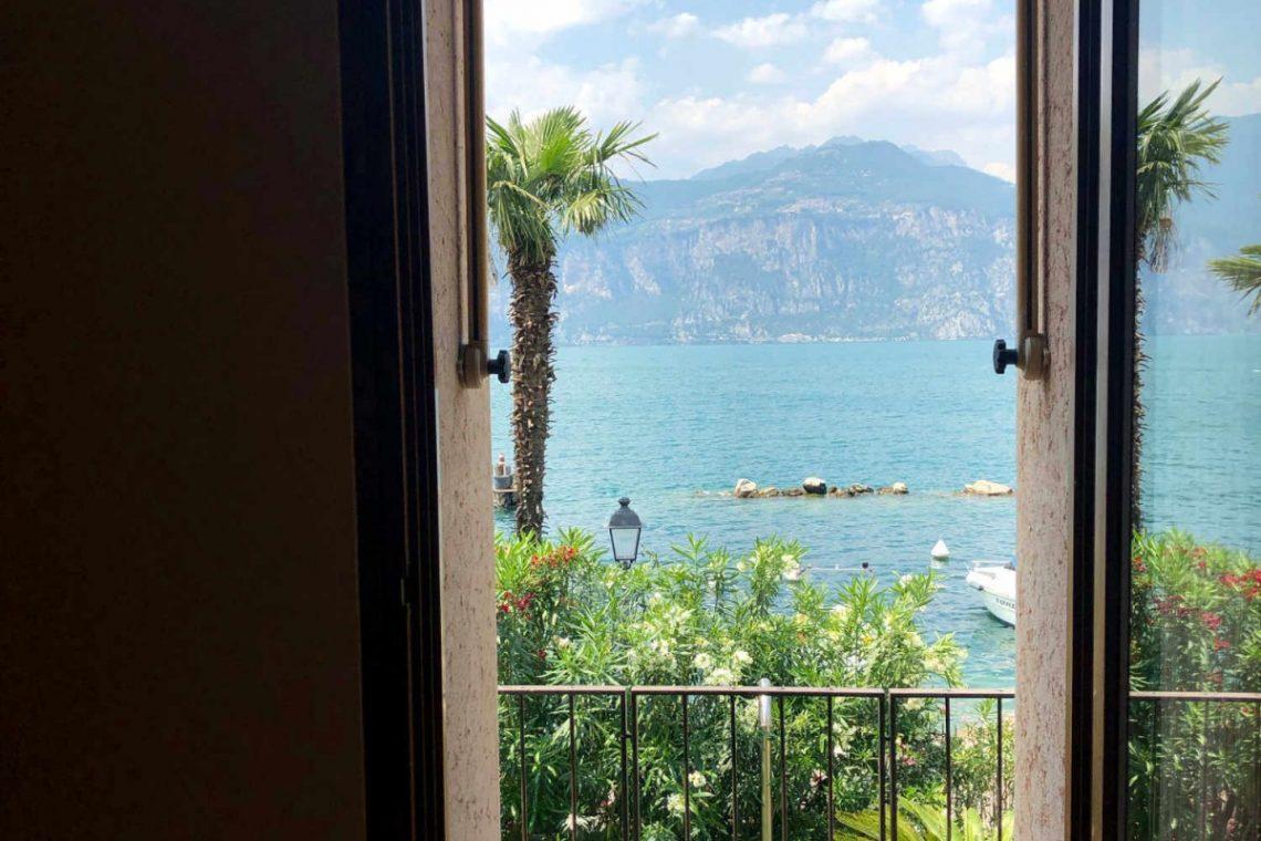 Villa Art Nouveau for sale Malcesine Lake Garda 38