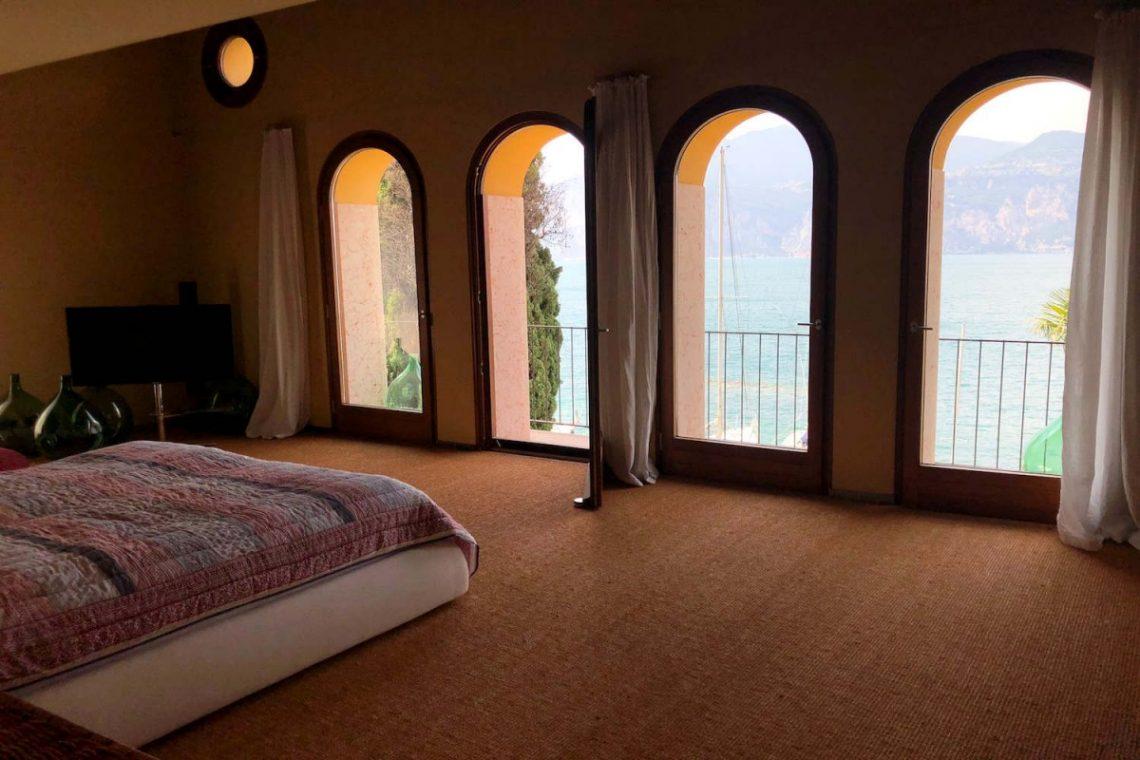 Villa Art Nouveau for sale Malcesine Lake Garda 43