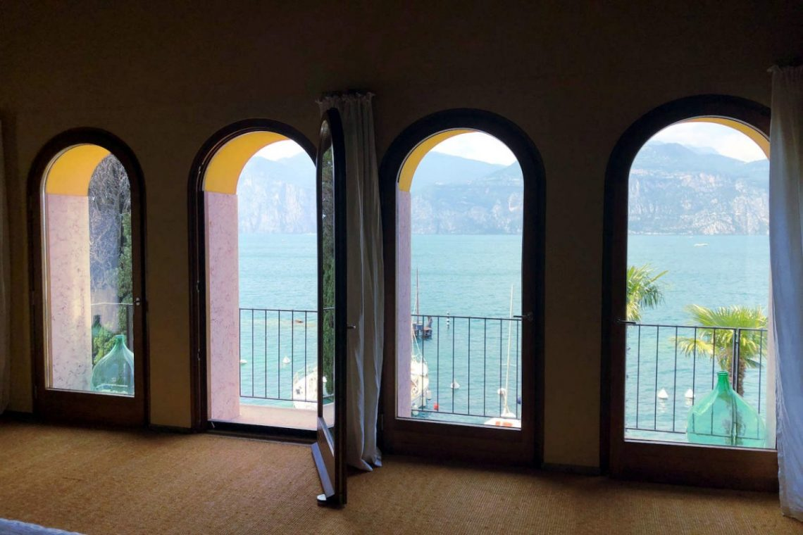 Villa Art Nouveau for sale Malcesine Lake Garda 47