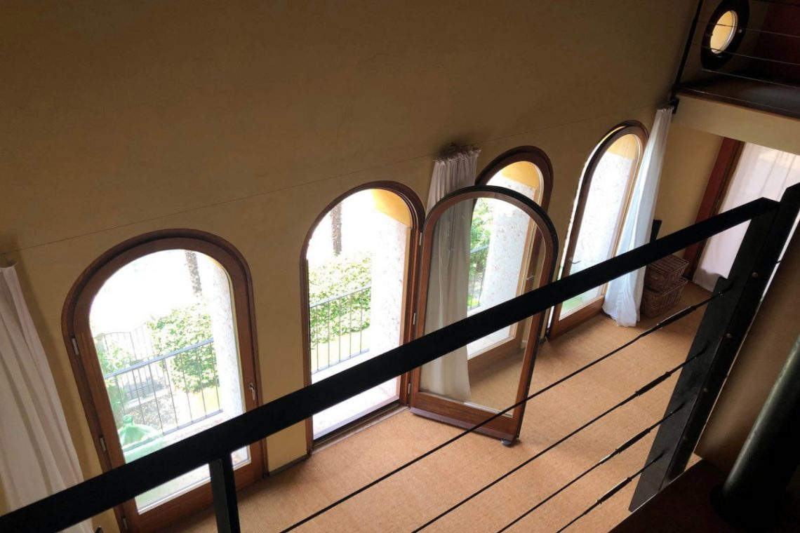 Villa Art Nouveau for sale Malcesine Lake Garda 50