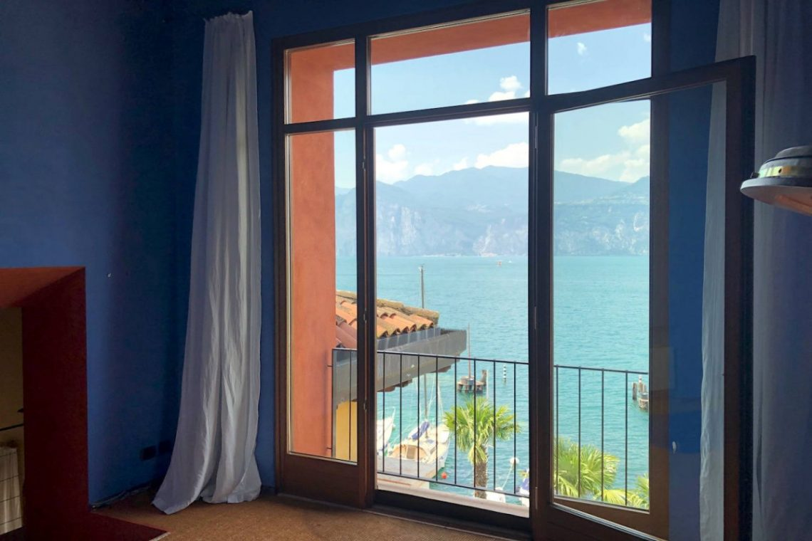 Villa Art Nouveau for sale Malcesine Lake Garda 55