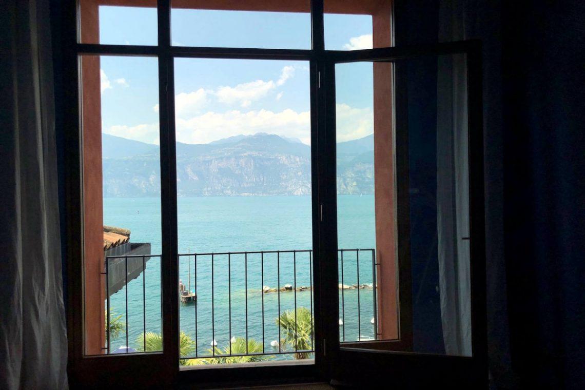 Villa Art Nouveau for sale Malcesine Lake Garda 57