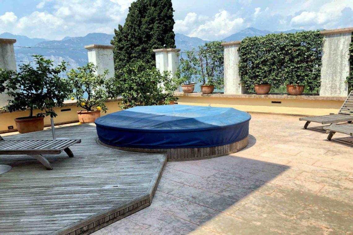 Villa Art Nouveau for sale Malcesine Lake Garda 66
