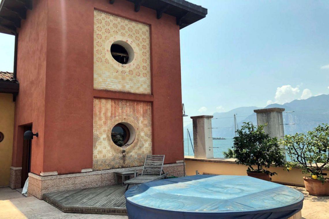 Villa Art Nouveau for sale Malcesine Lake Garda 68