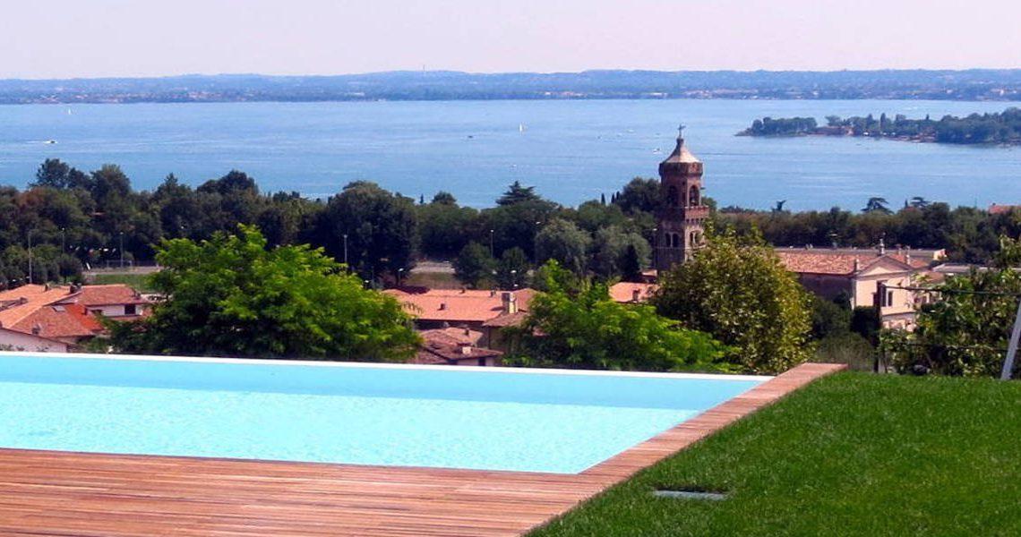 Italy Padenghe sul Garda villa lake view – slider