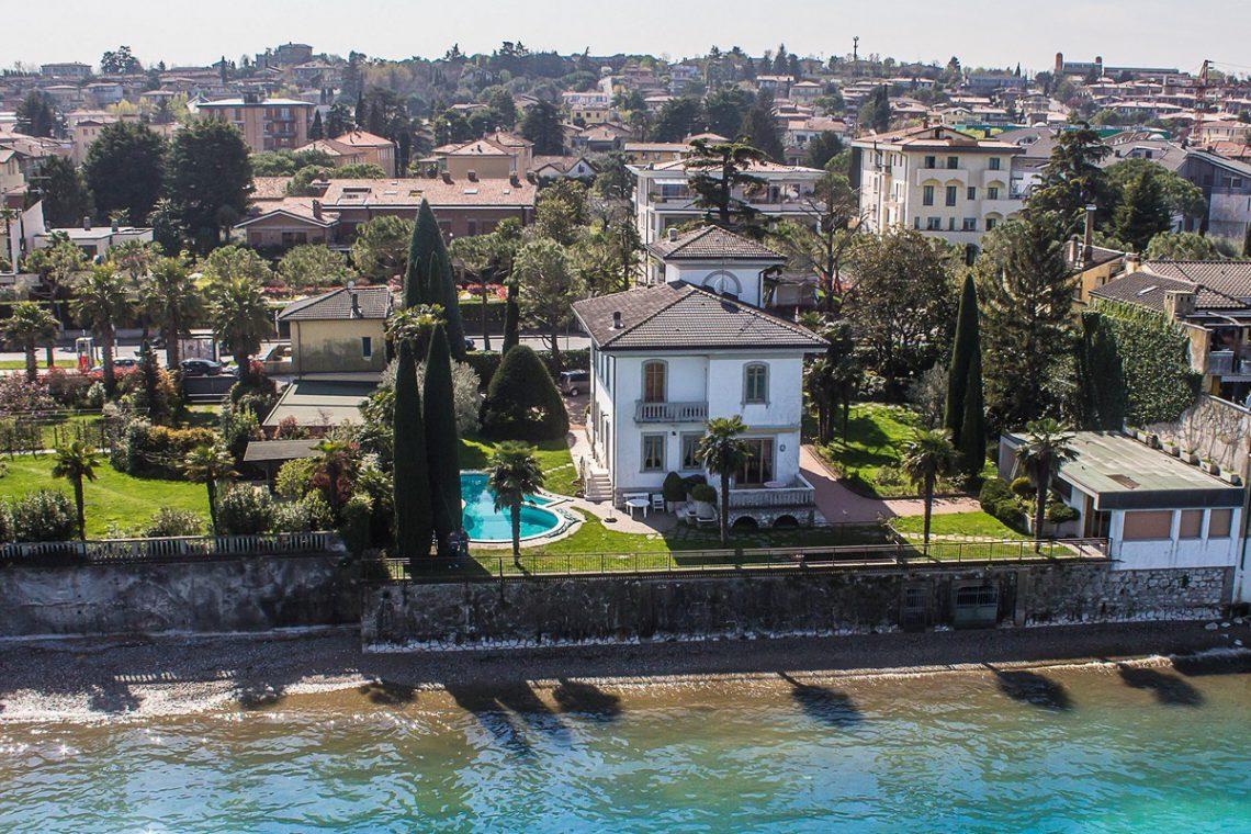 Lake Garda waterfront Art Nouveau villa 05