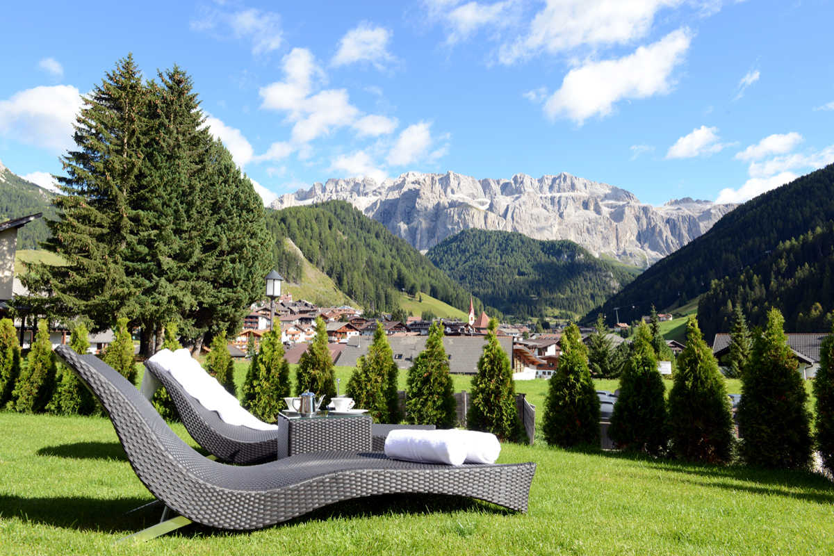 Val Gardena Chalet for rent on Alps Dolomites