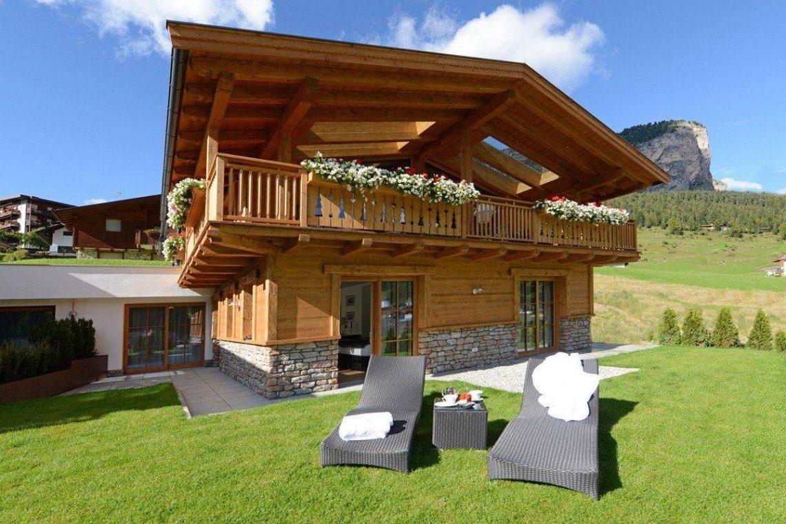 Alps Dolomites Val Gardena Chalet for rent 006