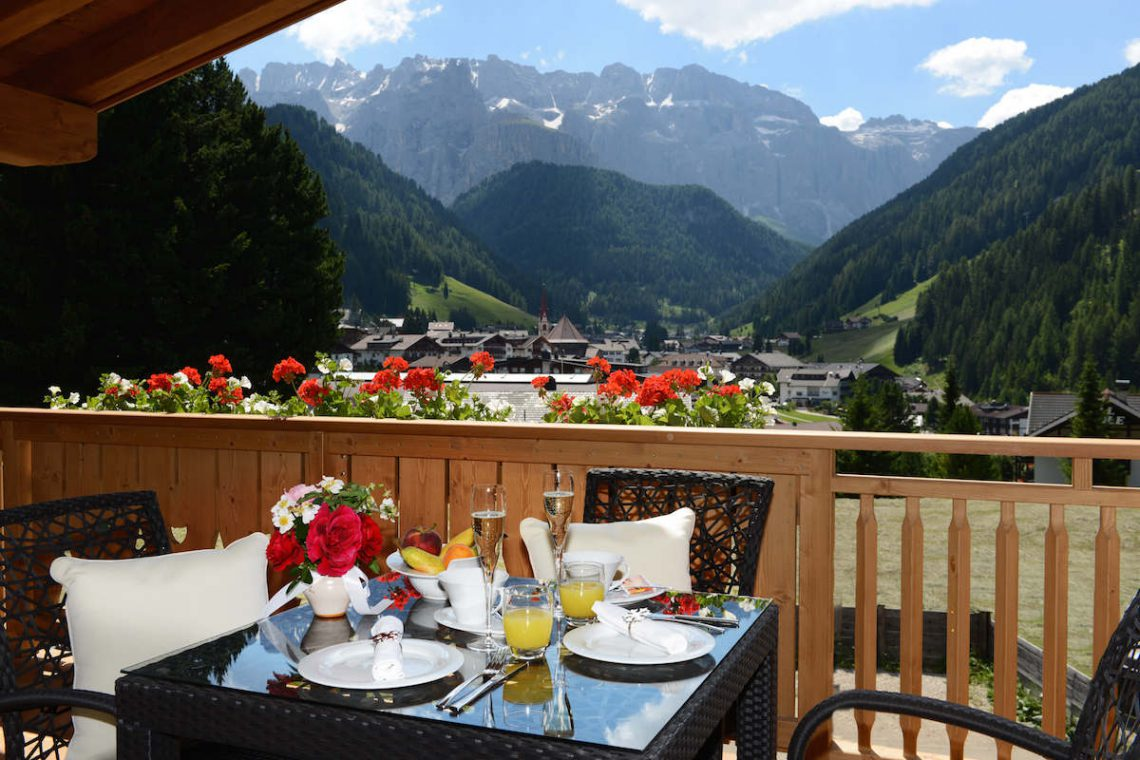 Alps Dolomites Val Gardena Chalet for rent 008