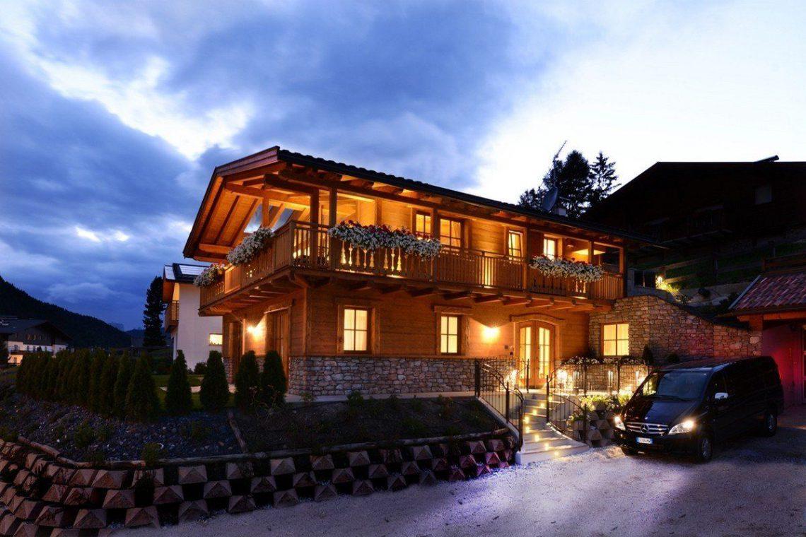 Alps Dolomites Val Gardena Chalet for rent 009
