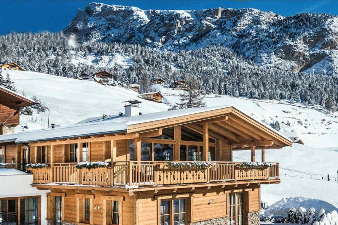 Alps Dolomites Val Gardena Chalet for rent 01