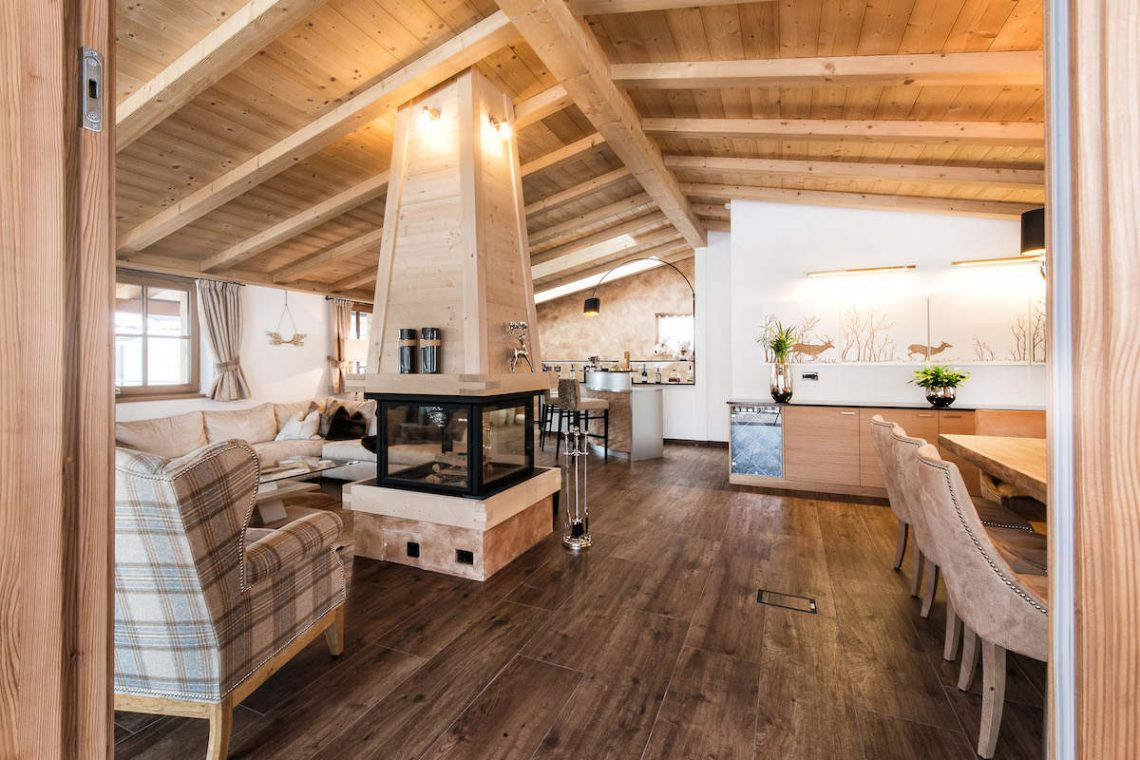 Alps Dolomites Val Gardena Chalet for rent 011