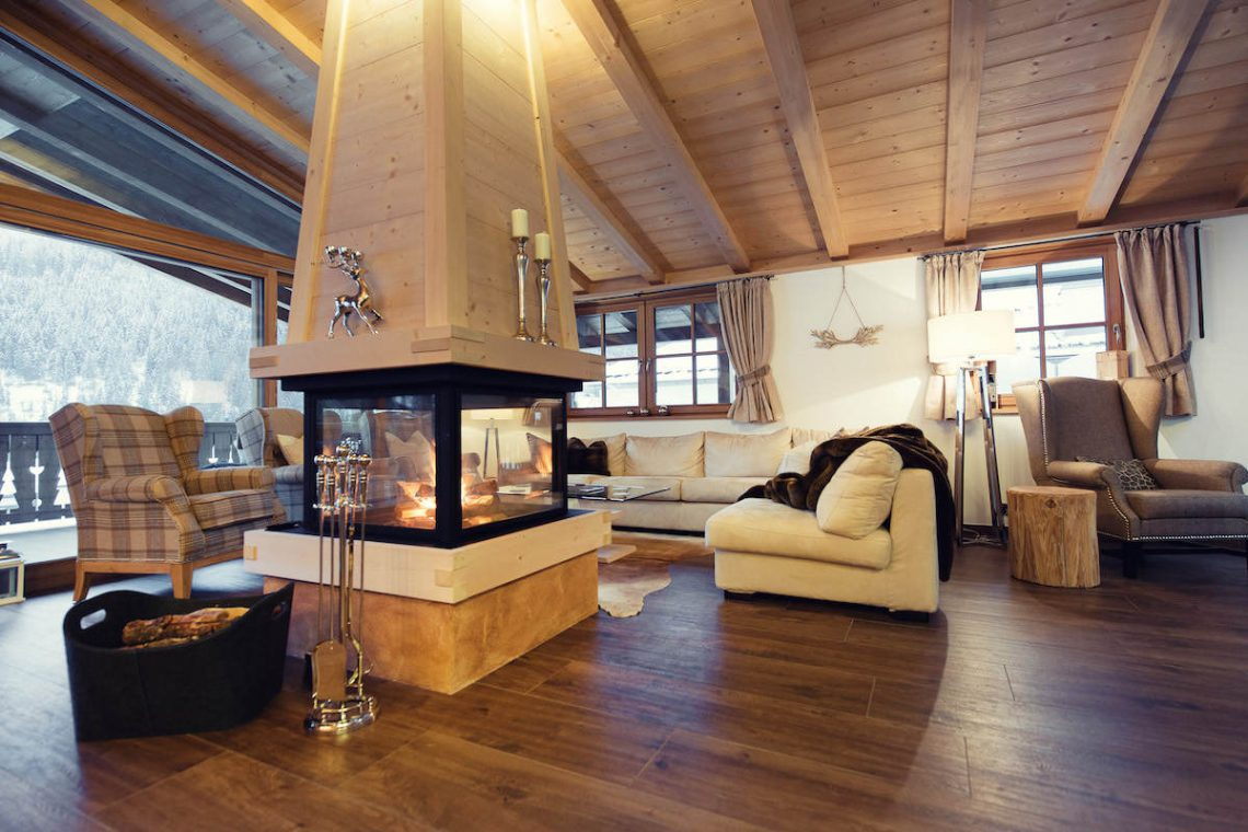 Alps Dolomites Val Gardena Chalet for rent 012