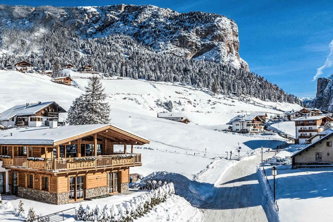 Alps Dolomites Val Gardena Chalet for rent 02