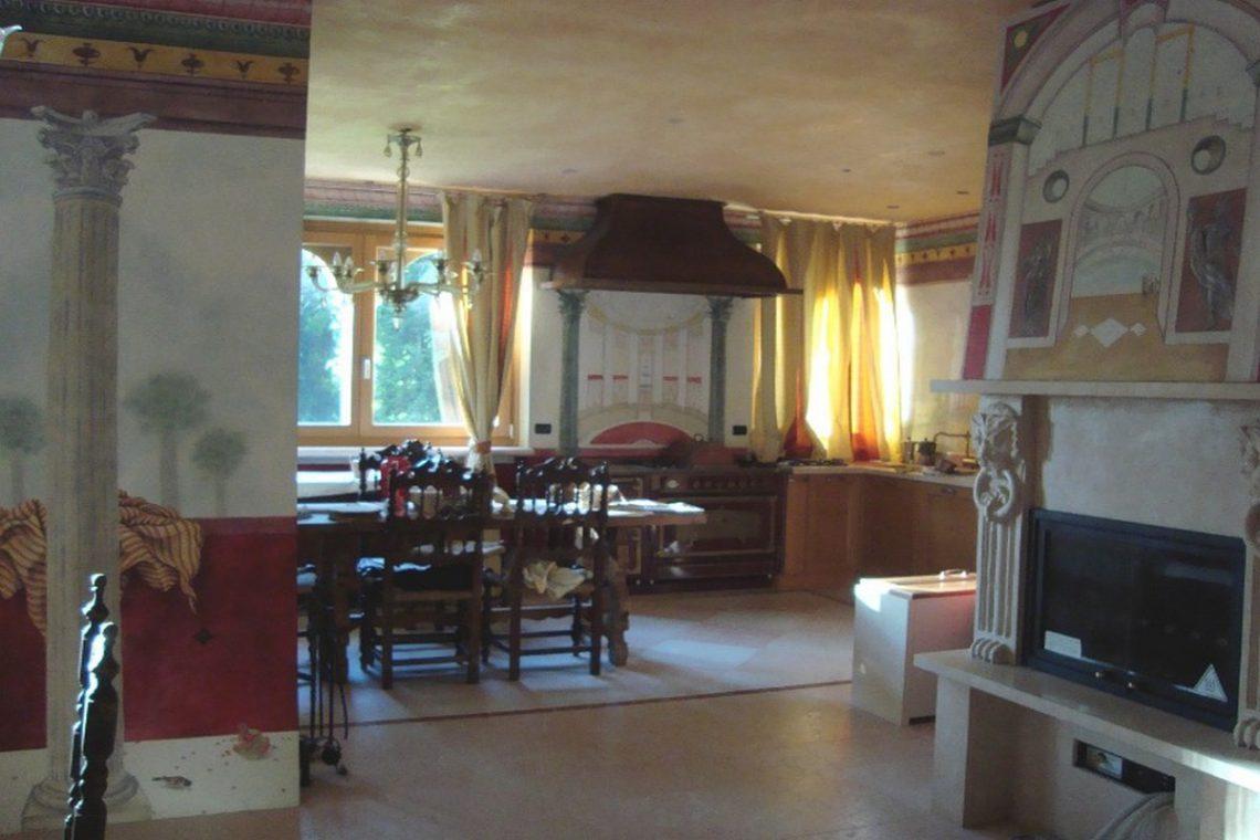 Lake view villa Lazise del Garda with indoor pool 11