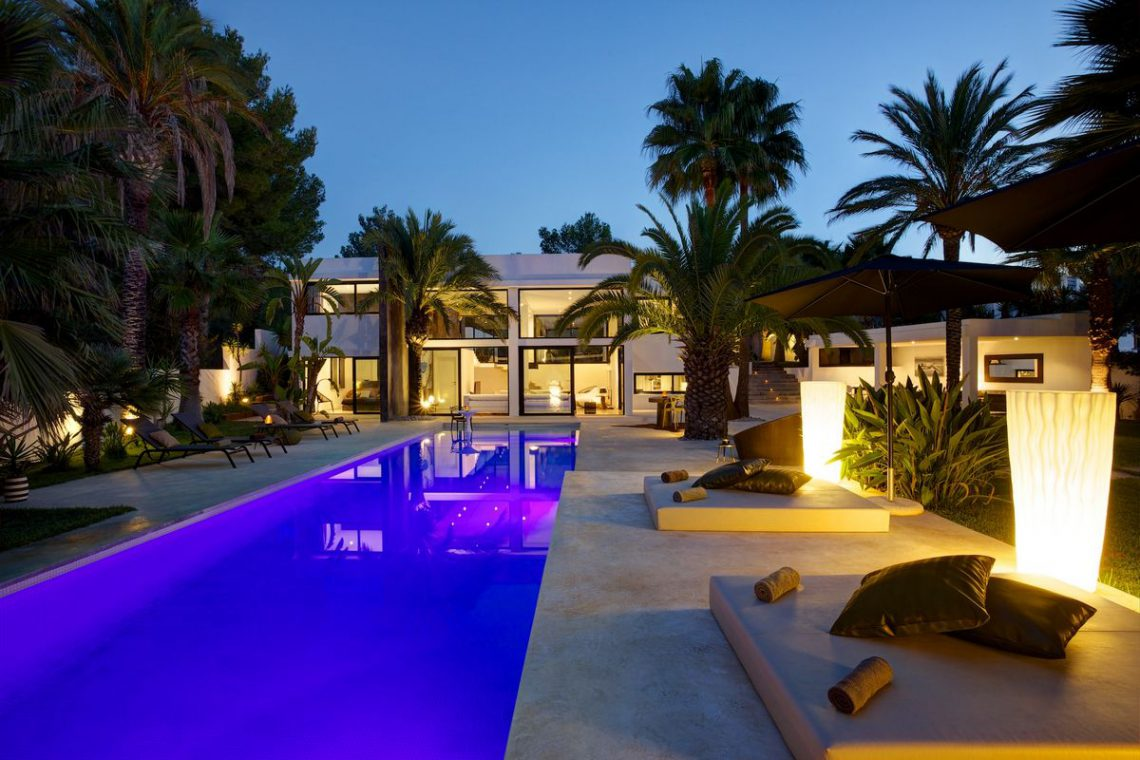 Ibiza rentals Villa with pool and exotic garden 03
