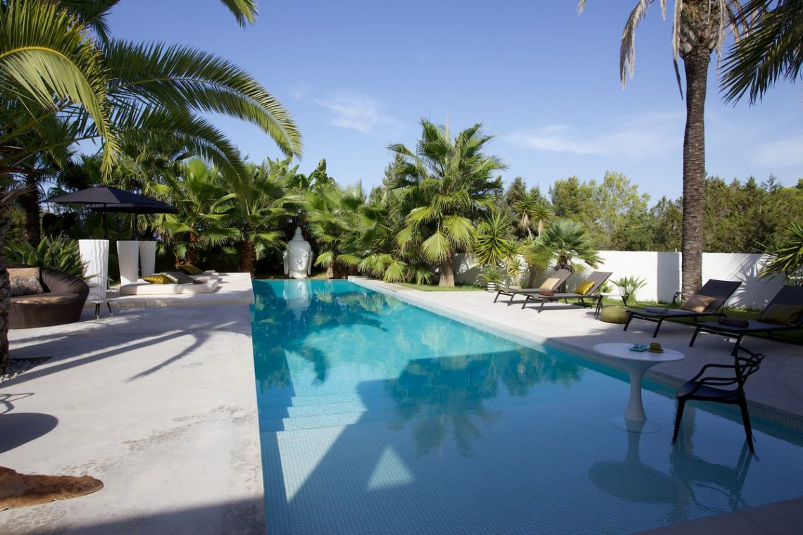Ibiza rentals Villa with pool and exotic garden 04