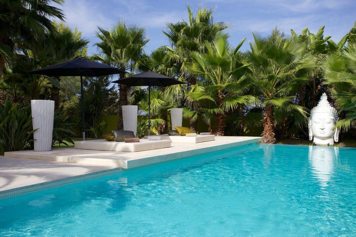 Ibiza rentals Villa with pool and exotic garden 07