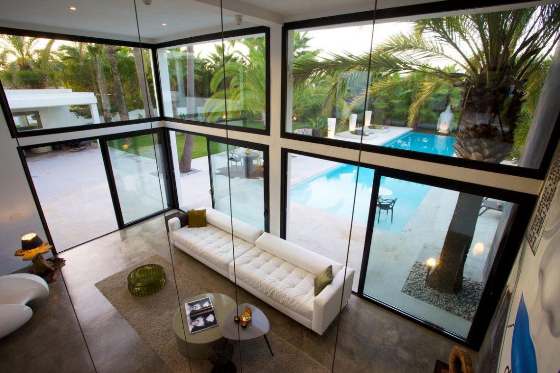 Ibiza rentals Villa with pool and exotic garden 10