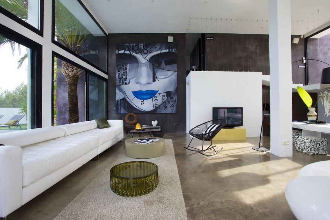 Ibiza rentals Villa with pool and exotic garden 11