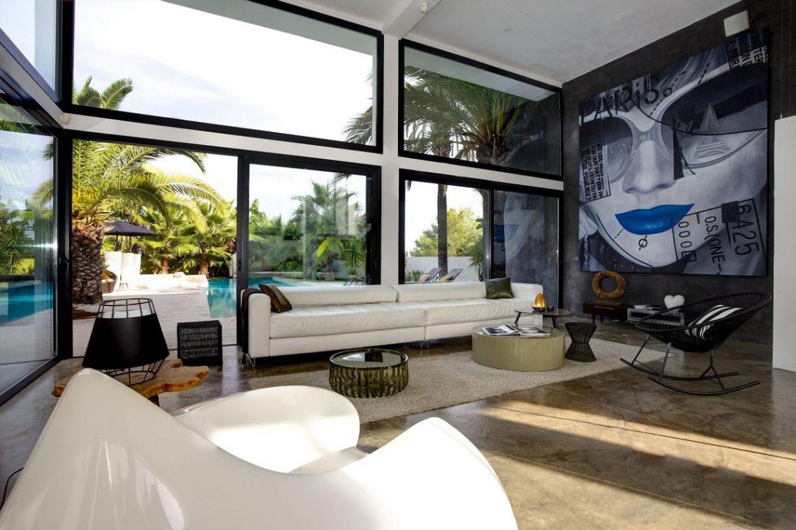 Ibiza rentals Villa with pool and exotic garden 12