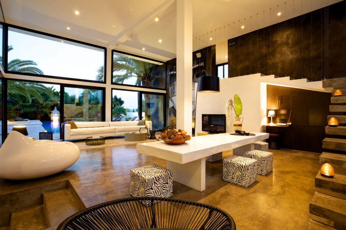 Ibiza rentals Villa with pool and exotic garden 13