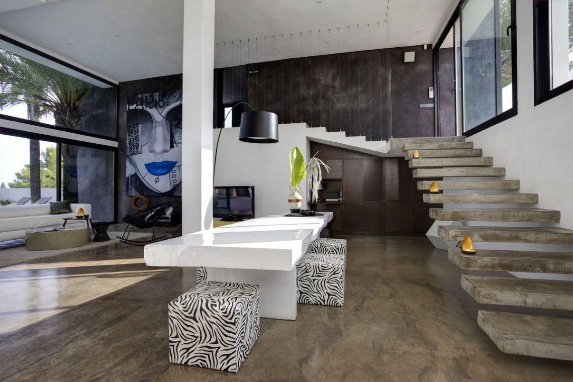 Ibiza rentals Villa with pool and exotic garden 14