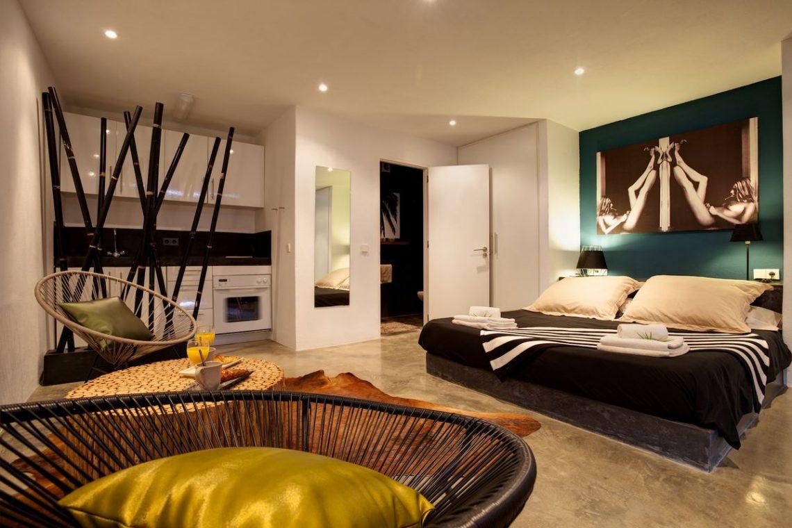 Ibiza rentals Villa with pool and exotic garden 24