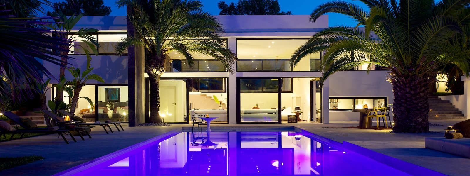 Ibiza rentals Villa with pool and exotic garden