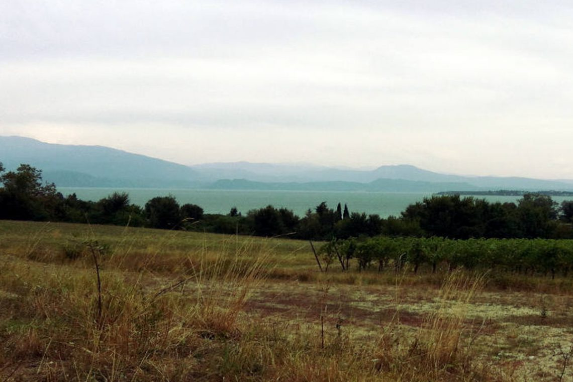 Building land Lake Garda with villa approved project 03