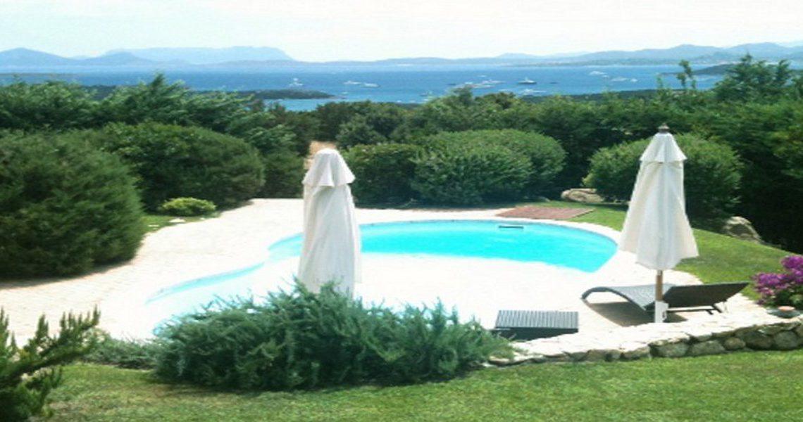 Sardinia Porto Cervo villa near Pevero Golf Club slider