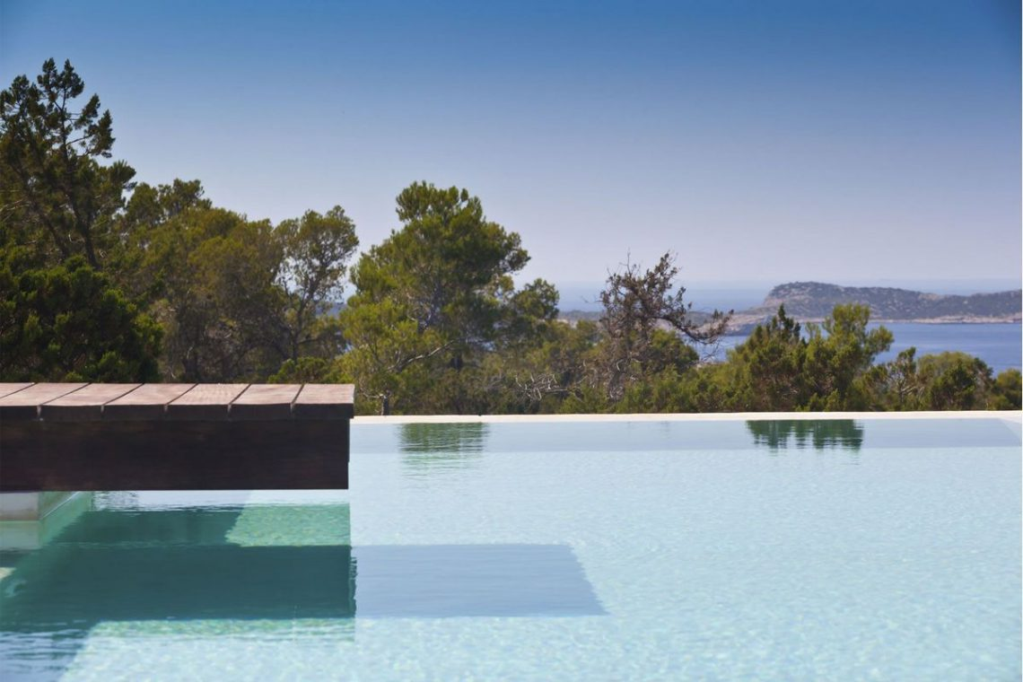 Ibiza villa rent with sea and sunset views 03