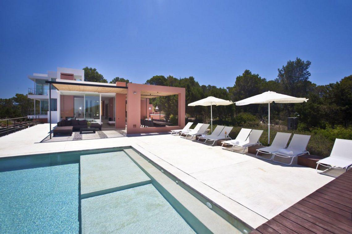 Ibiza villa rent with sea and sunset views 04