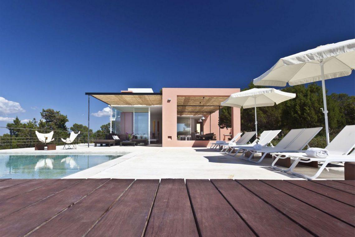 Ibiza villa rent with sea and sunset views 05