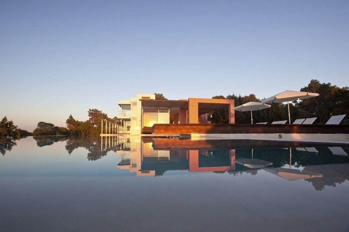Ibiza villa rent with sea and sunset views 06