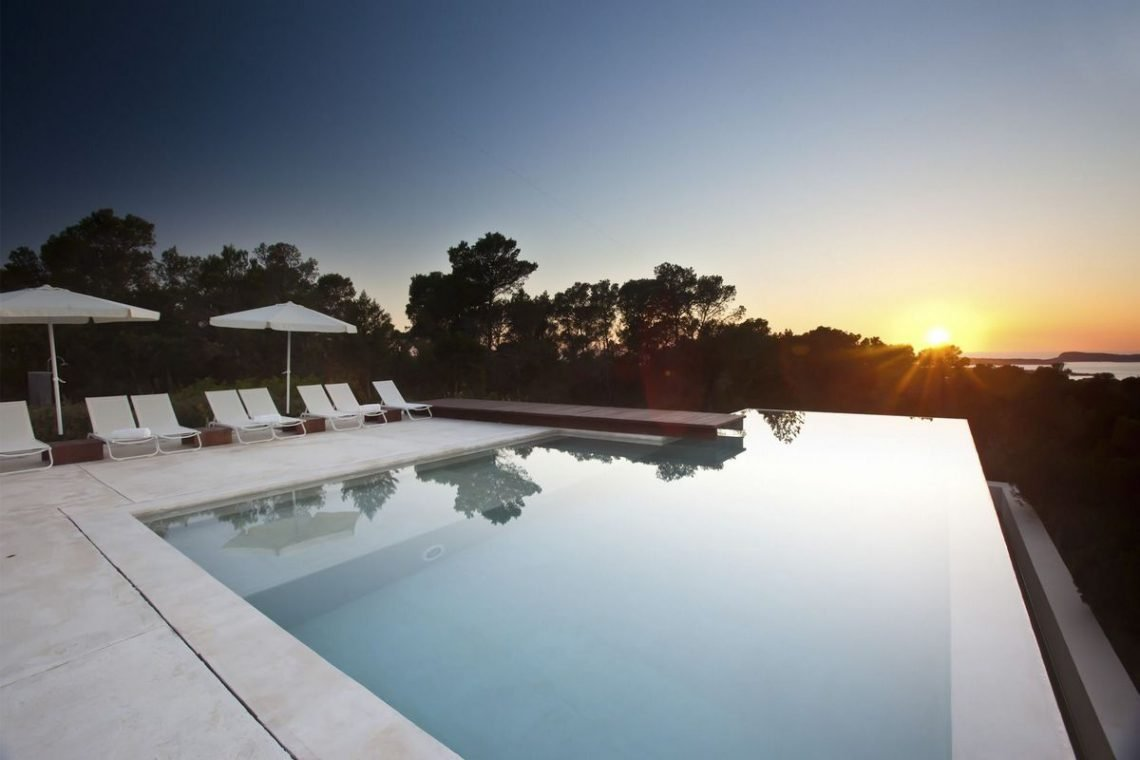 Ibiza villa rent with sea and sunset views 07