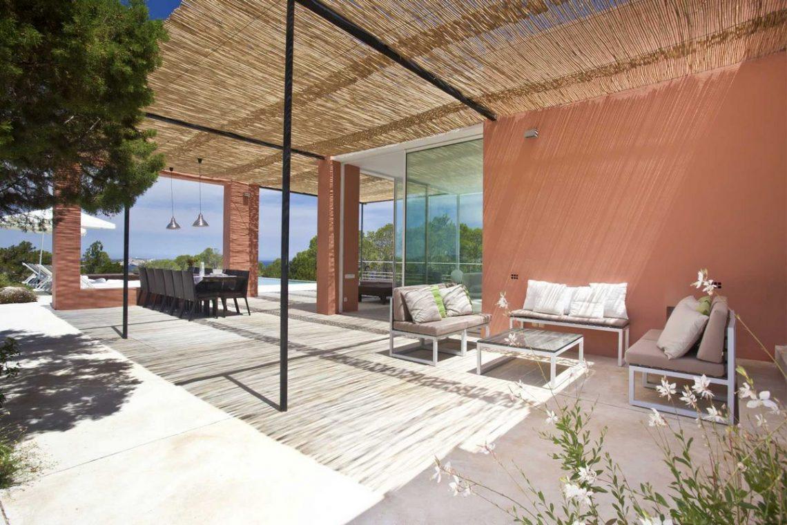 Ibiza villa rent with sea and sunset views 10