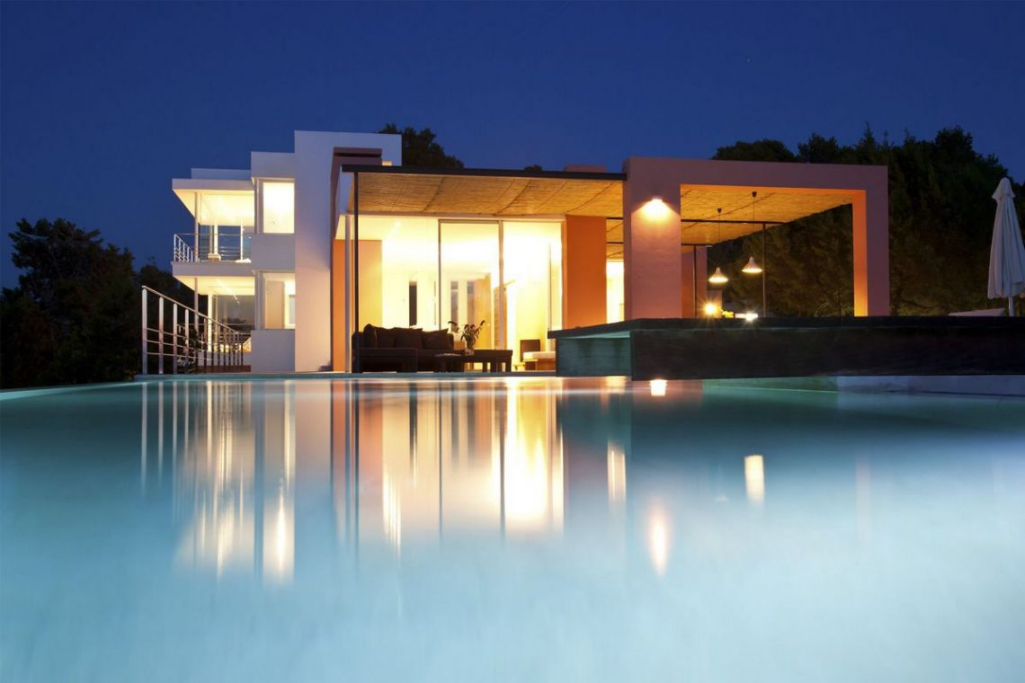 Ibiza villa rent with sea and sunset views 11