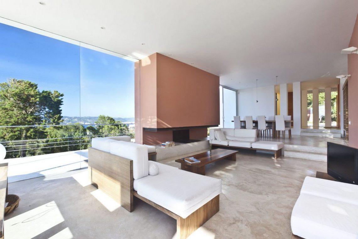 Ibiza villa rent with sea and sunset views 12