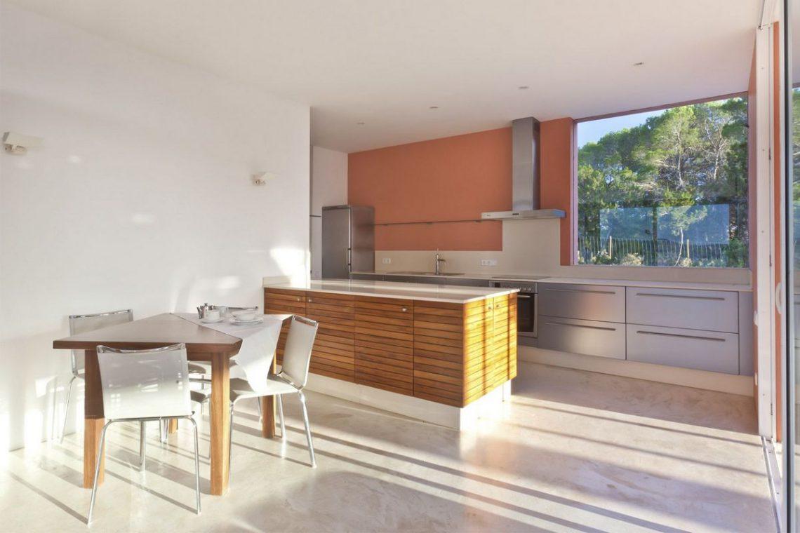 Ibiza villa rent with sea and sunset views 16