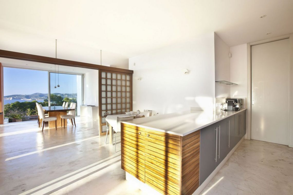 Ibiza villa rent with sea and sunset views 17