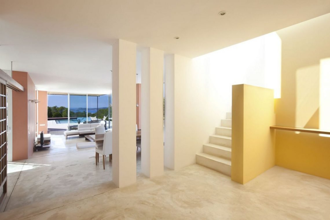Ibiza villa rent with sea and sunset views 18