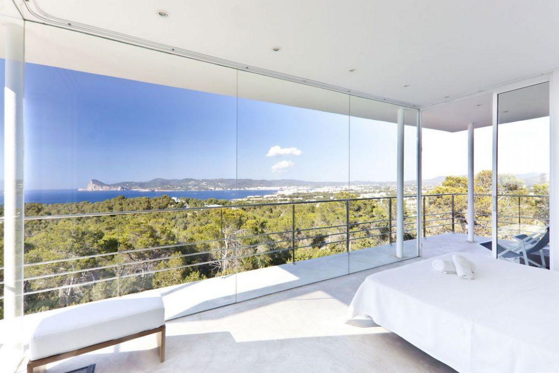 Ibiza villa rent with sea and sunset views 20