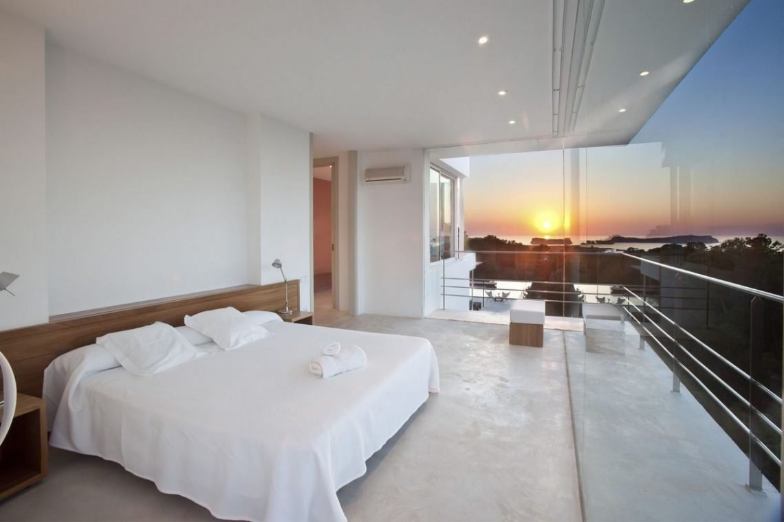 Ibiza villa rent with sea and sunset views 24