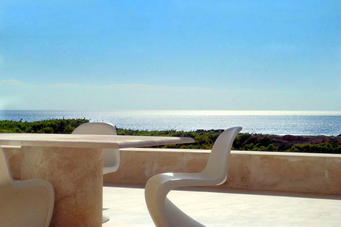 Villa Ibiza rental in stunning waterfront location 01